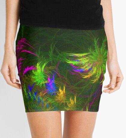 Jungle #fractal art 2 Mini Skirt