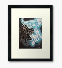 Back Into The Darkness Framed Print