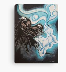 Back Into The Darkness Canvas Print