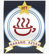 K-ON! - Hōkago Tea Time Name Badge (Azusa) Poster