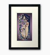 Dusk Blooming Framed Print
