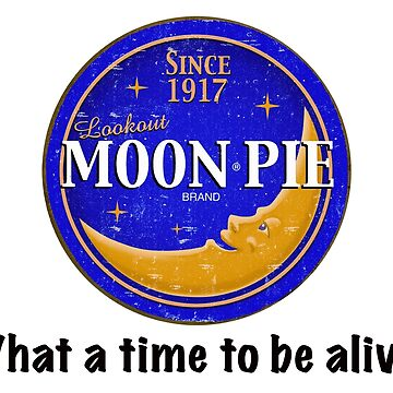 Moon Pie...What a time to be alive. by fandemonium