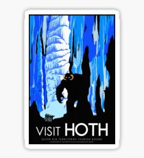 Visit HOTH Sticker