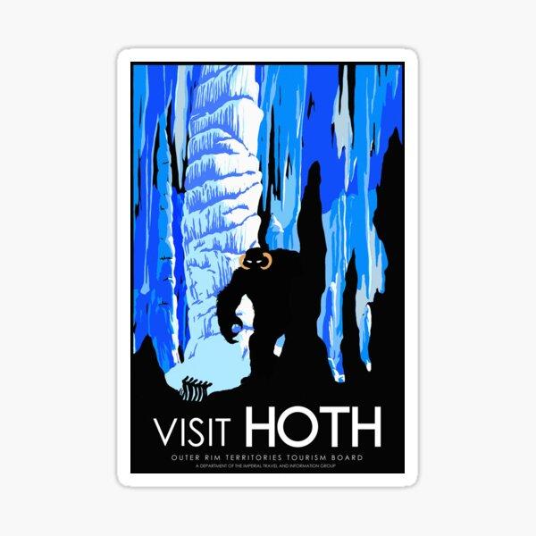 Visit HOTH Sticker