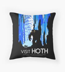 Visit HOTH Throw Pillow