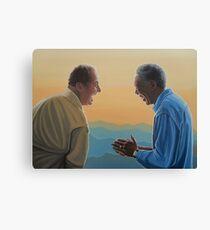 Jack Nicholson and Morgan Freeman in The Bucket List Canvas Print