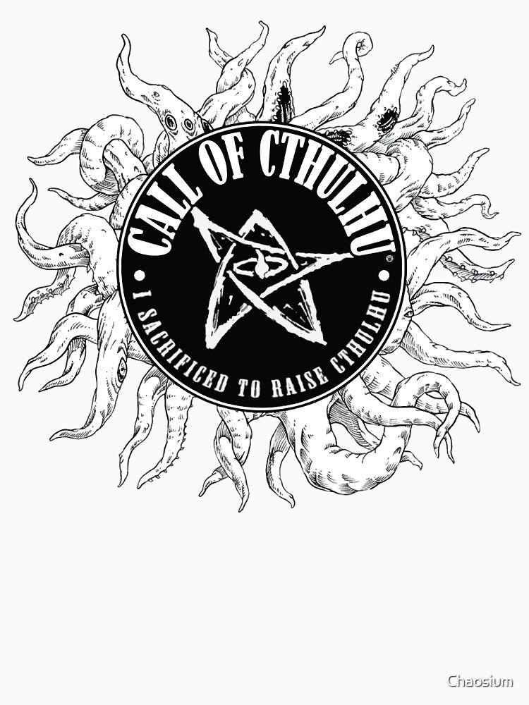 Call of Cthulhu 7e 1000% Backer T-Shirt by Chaosium