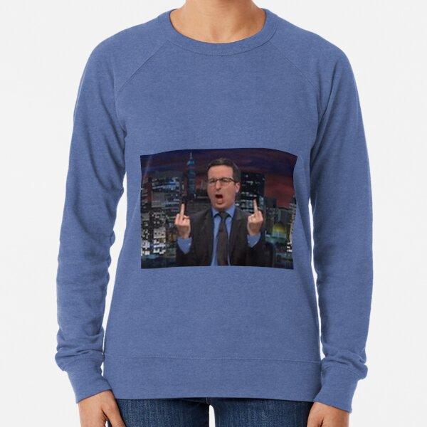 John Oliver Funny Lightweight Sweatshirt