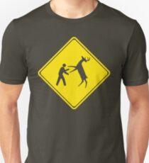 Cross Deer Crossing Slim Fit T-Shirt