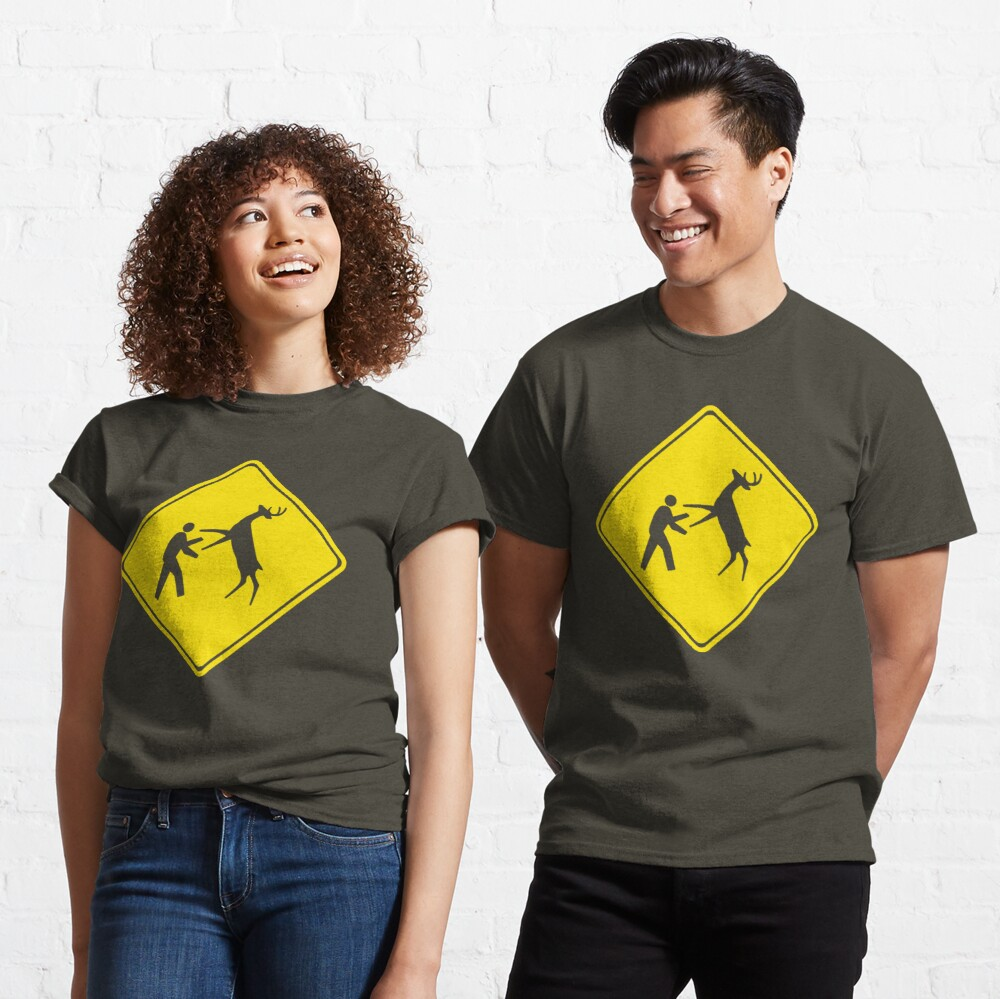 Cross Deer Crossing Classic T-Shirt