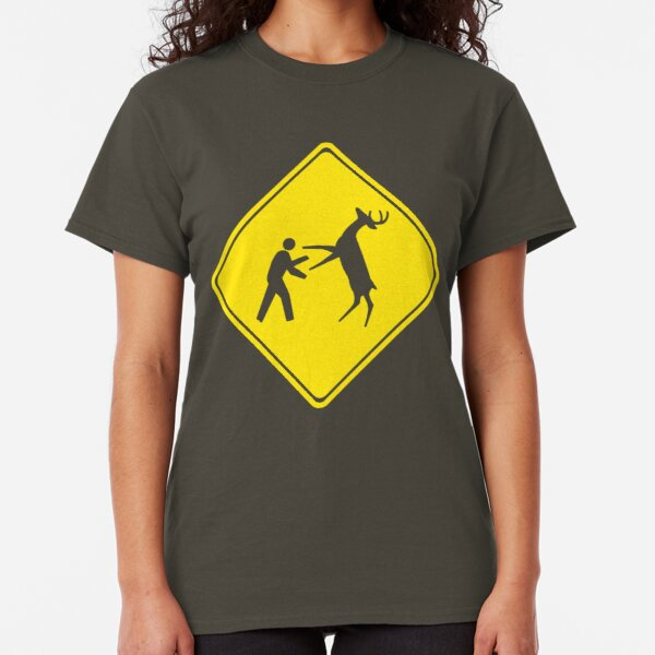Cross Deer Crossing Classic T-Shirt