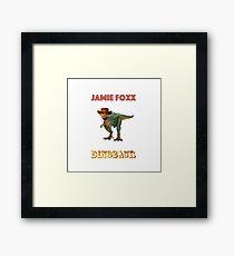Jamie Foxx Dinosaur Extravaganza Framed Print