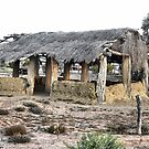 Mosque at Marree, South Australia by George Petrovsky