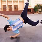 Break dance training Dien Bien Phu by Andrew  Makowiecki