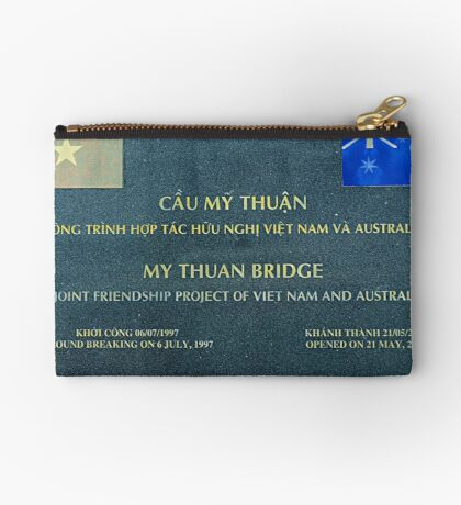 Friendship Bridge, Mekong Area of Viet Nam Studio Pouch