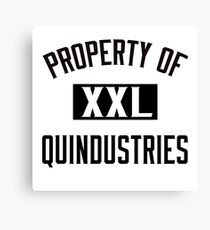 Property of Quindustries Athletics Canvas Print