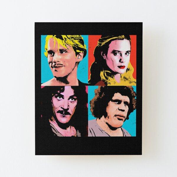 Music Kids The Princess Warhol  Gift Movie Fans Wood Mounted Print