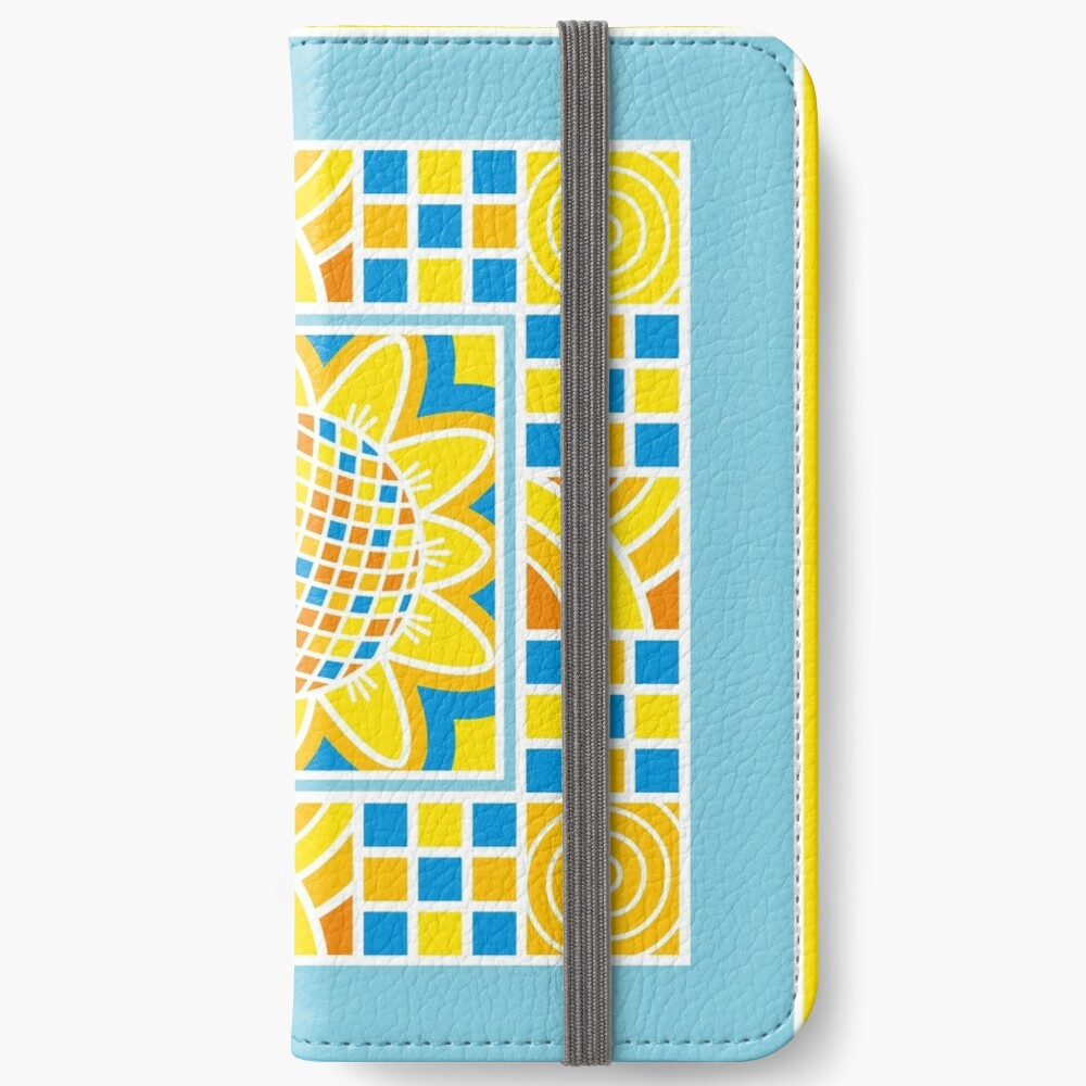 Sunflower iPhone Wallet