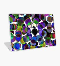 Cluttered Circles III Laptop Skin