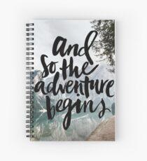 Adventure Spiral Notebook