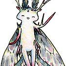Happy Moth by Leigh Ann Gagnon