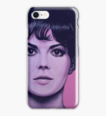 Natalie Wood Painting iPhone Case/Skin