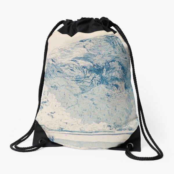 Mountain Landscape - Alexander H. Wyant Drawstring Bag