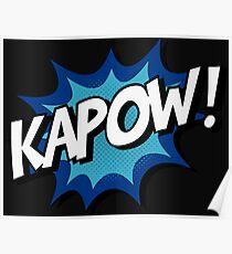 Kapow! Comic Poster