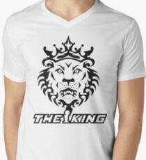 KING JAMES Mens V-Neck T-Shirt