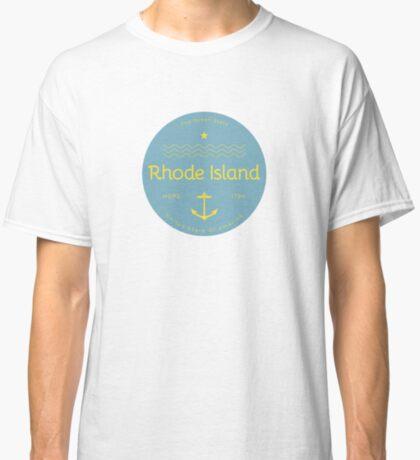 Rhode Island Badge Design Classic T-Shirt