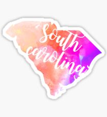 South Carolina Sticker