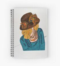 KCs Hat Spiral Notebook