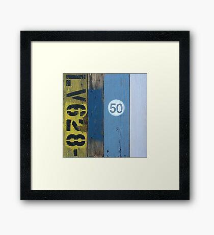 Flotsam and Jetsam Framed Print