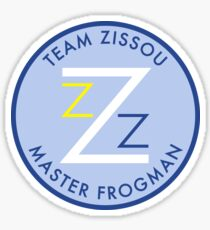 Team Zissou - Master Frogman Sticker