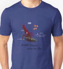 20,000 Leagues Under the Sea Remastered T-Shirt