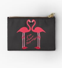 Sag einfach 'Flamingos Täschchen