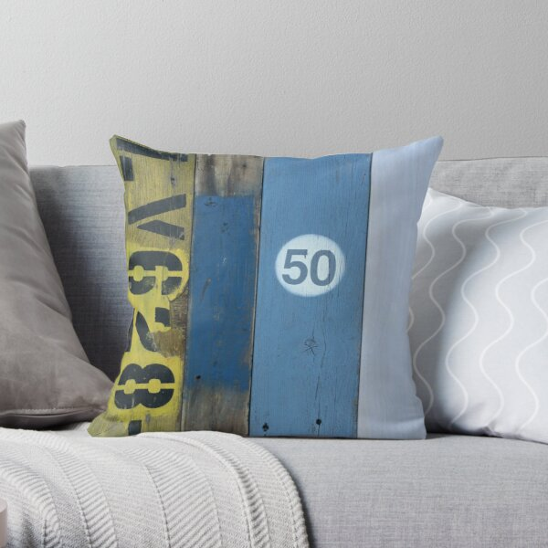 Flotsam and Jetsam Throw Pillow