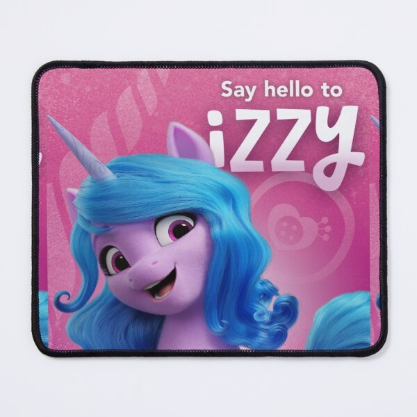 Say hello to Izzy from My little pony - a new generation (2021) Mouse Pad