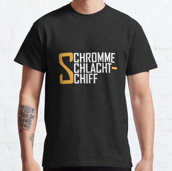 Schromme Schlachtschiff Schriftzug: Solo-Logo Design Classic T-Shirt