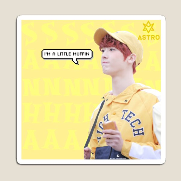 Astro Sanha being a cute muffin edit  Magnet