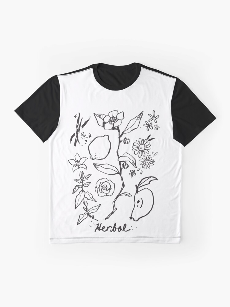Alternate view of Herbal Tea  Graphic T-Shirt