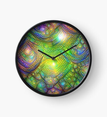 Alien skin #DeepDream Clock