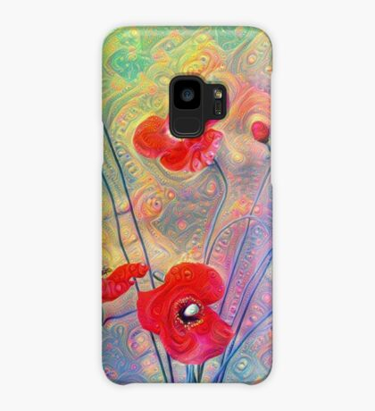#Deepdreamed Poppies Case/Skin for Samsung Galaxy