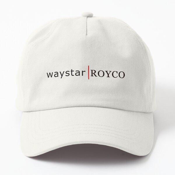 waystar ROYCO logo black Dad Hat