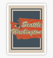 Seattle Washington Sticker
