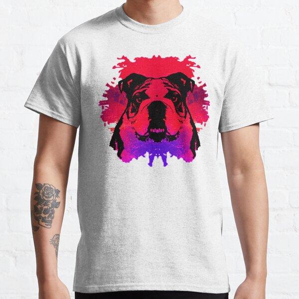 Colorful Artistic Dog Classic T-Shirt