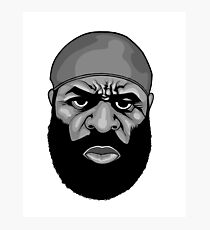 RIP Kimbo Slice Photographic Print