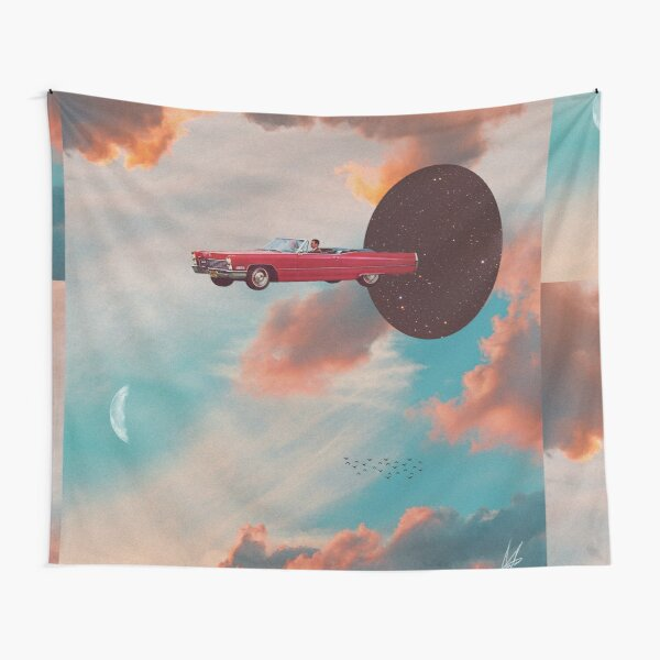 A Ride With You Tapestry