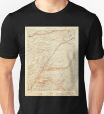 USGS TOPO Map California CA Big Trees 299217 1901 125000 geo T-Shirt