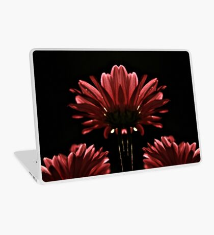 Red Flower in Light Laptop Skin